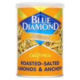 BLUE DIAMOND Calmond (Roasted-Salted Almonds & Anchovy)