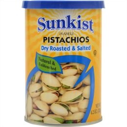 SUNKIST PISTACHIOS Dry Roasted & Salted
