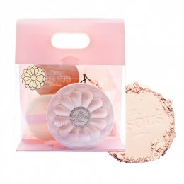 Bisous Bisous Love Blossom Brightening Powder Pact Set #1 Beige