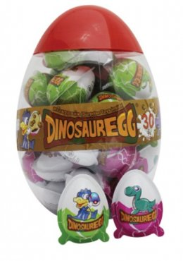 DINOSAUR EGG chocolate with biscuit 30 pcs.