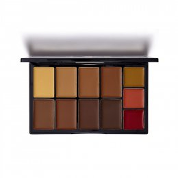 Kiss New York Professional Cream Contour Palette #KFC 02 Medium Dark