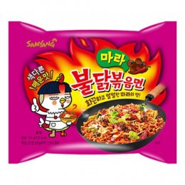 SAMYANG hot chicken ramen mala flavor 135 g.