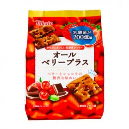 TOHATO chocolate strawberry flavor biscuits 81 g.