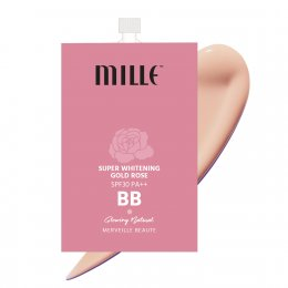 MILLE SUPER WHITENING GOLD ROSE BB CREAM #02 GLOWING NATURE
