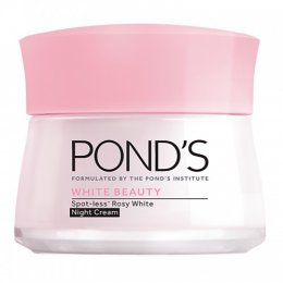POND'S WHITE BEAUTY SPOT-LESS ROSY WHITE NIGHT CREAM 50 g.