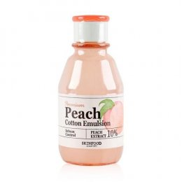 Skin Food Premium Peach Cotton Emulsion 140ml