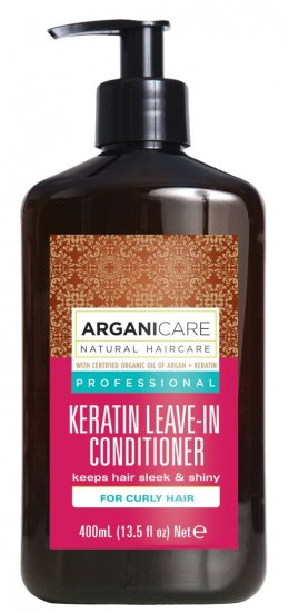 Argani Care Keratin Leave-In Conditioner For Dry Hair 400 ml.