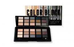 Mei Linda Color Block Eyeshadow Palette #2 Sexy Night