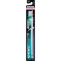 LION Systema toothbrush compact straight handle normal C31