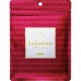 LuLuLun Face Mask Precious Red - Concentrated Moisture 7 pcs.
