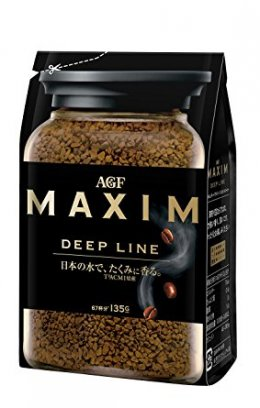 AGF MAXIM DEEP LINE Bag (Instant Coffee) 135 g.