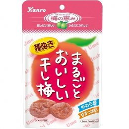 KANRO delicious dried plum (large bag) 45 g