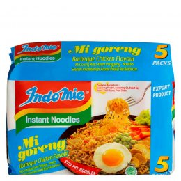 INDOMIE mi goreng barbeque chicken flavour 5 pcs
