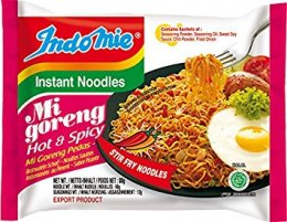INDOMIE mi goreng hot & spicy flavour 80 g.