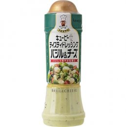 QP Tasty Dressing Basil & Cheese 210 ml.