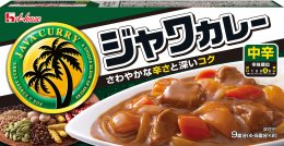 HOUSE Java Curry Mid Hot 185 g.