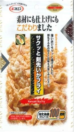 MARUESU SAKUTTO KENSAKI IKA FRIED SQUID 26 g.