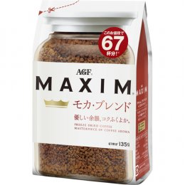 AGF MAXIM MOCCA  (Instant Coffee) 135 g.