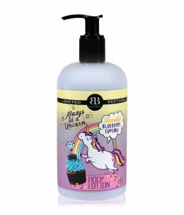BETTINA BARTY LIMITED EDITION VANILLA BLUEBERRY CUP CAKE BODY LOTION 500 ml.