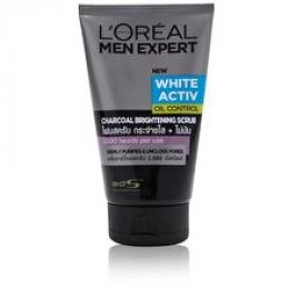L'OREAL PARIS MEN EXPERT WHITE ACTIVE OIL CONTROL CHARCOAL BRIGHTENING SCRUB