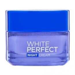 L'OREAL PARIS WHITE PERFECT NIGHT CREAM WHITENING + EVEN TONE