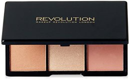MAKEUP REVOLUTION  ICONIC BRONZED & BRIGHTENS - GOLDEN HOT