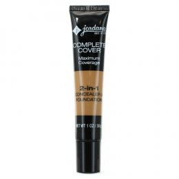 JORDANA Complete Cover 2-in-1 Concealer & Foundation 08 Golden Olive