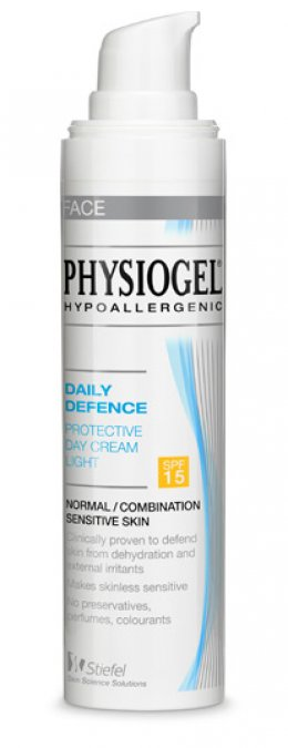 Physio Gel PROTECTIVE DAY CREAM LIGHT SPF15