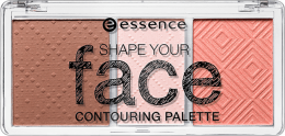 ESSENCE Shape your face contouring palette 10