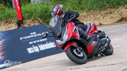 Test & Review Honda All New Forza 350 By OVERRIDE