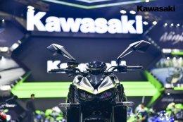 """""""คาวาซากิ"""" เปิดโชว์รูมสุดยิ่งใหญ่ อวดรถทุกไลน์อัพภายในงาน """"Motor Show 2018"""""""