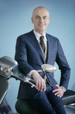 Mr.Gianluca Fiume New management Piaggio Group