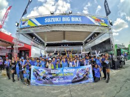 ซูซูกิพาลูกค้าเชียร์ Team Suzuki Ecstar สู้ศึกสองล้อ MotoGP 2018