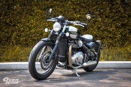 Test & Review....Triumph Bonneville Bobber