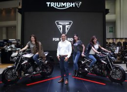 ALL NEW STREET TRIPLE RS @Bangkok International Motor Show2017