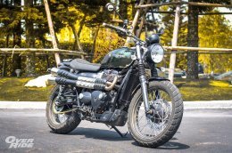 Test & Review....Triumph Street Scrambler