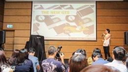 """เผยโฉมรถรุ่นใหม่จาก VESPA """"GTS Super 300 ABS"""" และ Vespa Sprint 150  i-Get Sport Edition"""