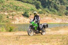 Kawasaki Versys-X organizes trips @Suan Phueng Ratchaburi.
