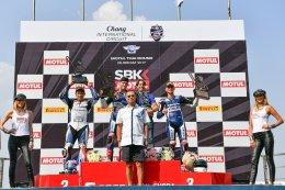 นักบิดYAMAHA THAILAND RACING TEAMสุดเจ๋ง ตั้น-เดชาไกรศาสตร์ผงาดคว้าอันดับ2ศึกชิงแชมป์โลกรุ่นWorld Supersportในบ้าน