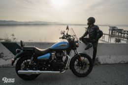 Test & Review Royal Enfield Meteor 350 Supernova By OverRide
