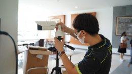 มอบกล้องตรวจจับความร้อน หรือ กล้อง Thermal camera จำนวน 1ชุด มูลค่า380,000บาท