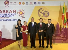 The Country winner of Family Business(Large Tier) for ASEAN Business Award 2019