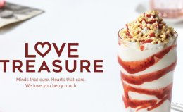 Strawberry Cheesecake Twist