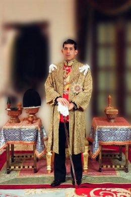 พระบรมฉายาลักษณ์ สมเด็จพระเจ้าอยู่หัวมหาวชิราลงกรณ (ภาพพระราชทาน)