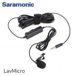 Saramonic รุ่น LavMicro Broadcast ไมโครโฟน