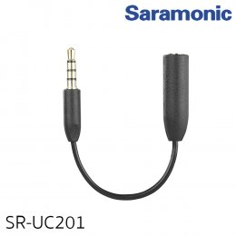 หัวแปลงสายไมโครโฟน 3.5 mm ยี่ห้อ Saramonic