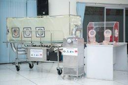 ปตท.สผ. พัฒนานวัตกรรมเตียงเคลื่อนย้ายผู้ป่วยความดันลบ