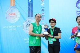 นักวิ่งร่วมวิ่งรักษ์โลกในงาน GC Rayong Marathon 2019