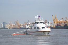 บางจากฯ ร่วมเปิดใช้งานเรือติดตั้งระบบจัดเก็บคราบน้ำมัน