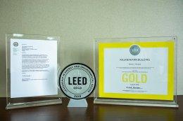 เอสซีจี คว้า LEED ระดับ Gold Level